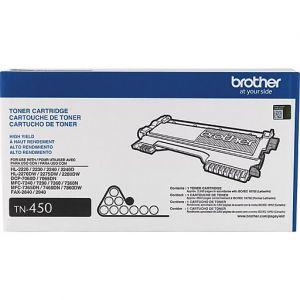 Genuine Brother TN-450 Black High Yield Toner Cartridge (Replaces TN-420)