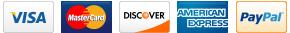 Ink4Less accepts Visa, MasterCard, Discover, AMEX and PayPal.